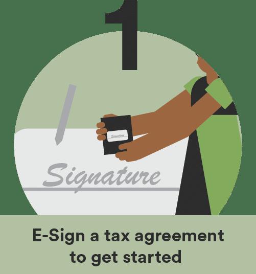 tax preparation tax agreement