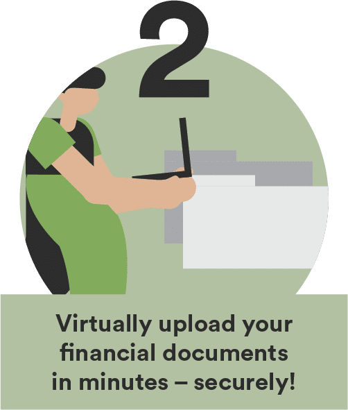 tax preparation upload your financial documents