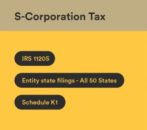 s corporation tax preparation