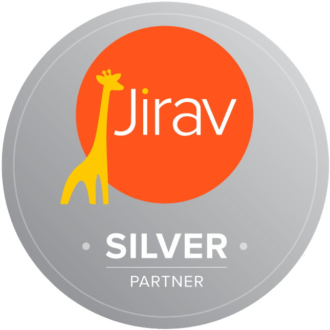 Jirav Silver Partner Badge
